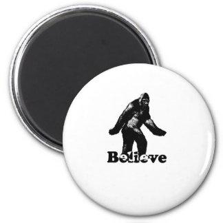 Bigfoot Believe Magnet