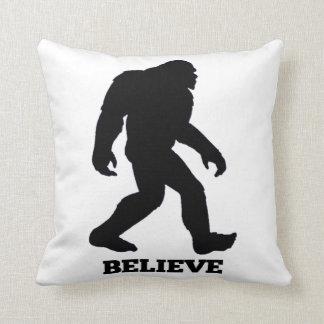 Bigfoot Believe Pillow