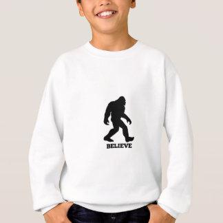 Bigfoot BELIEVE Sasquatch Sweatshirt