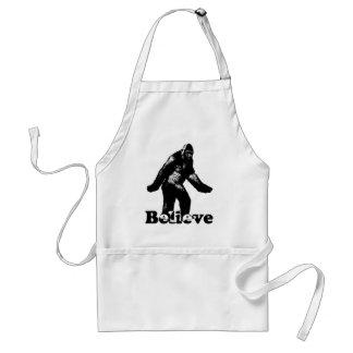 Bigfoot Believe Standard Apron