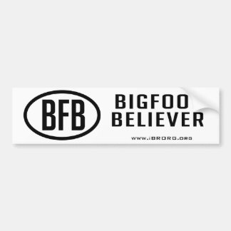 Bigfoot Believer Bumper Sticker