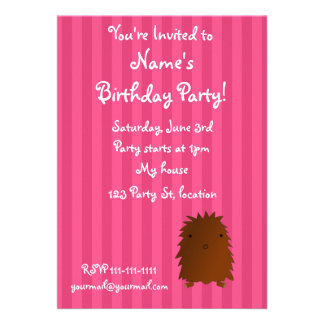 Bigfoot birthday invitation
