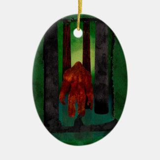 Bigfoot Christmas Ornament