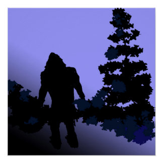 Bigfoot Country Poster