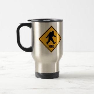 Bigfoot Crossing Stainless Steel Travel Mug