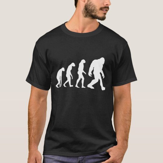 Bigfoot Evolution T-shirt