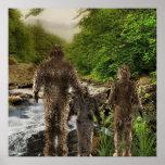 Bigfoot Family Posters