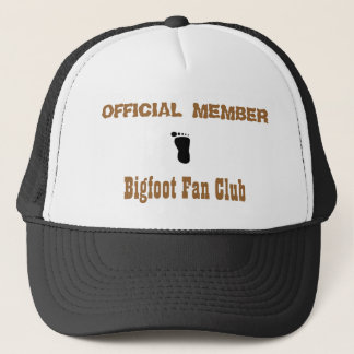 Bigfoot Fan Club Trucker Hat