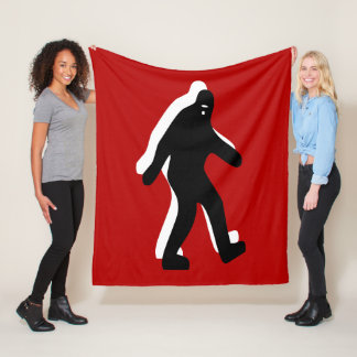 Bigfoot Fleece Blanket