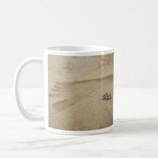 Bigfoot  footprint mug.