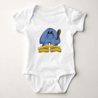 Bigfoot Holding Club Baby Bodysuit