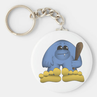 Bigfoot Holding Club Key Ring
