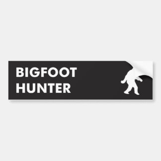 Bigfoot Hunter - Bumper Sticker