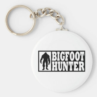 Bigfoot Hunter - Finding Bigfoot Key Ring