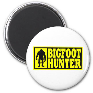 Bigfoot Hunter Gear - Finding Bigfoot 6 Cm Round Magnet