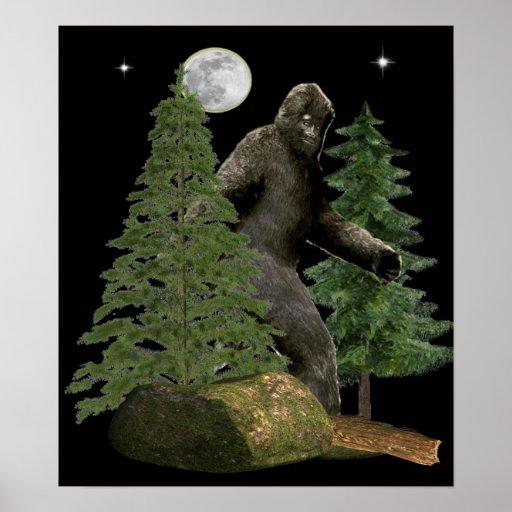 Bigfoot Hunter poster