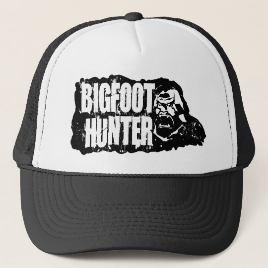 BIGFOOT HUNTER TRUCKER HAT