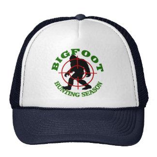 Bigfoot Hunting Season Cap