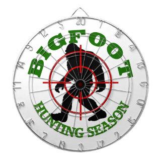 Bigfoot Hunting Season Dartboard