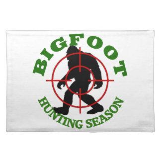 Bigfoot Hunting Season Placemat