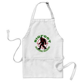 Bigfoot Hunting Season Standard Apron