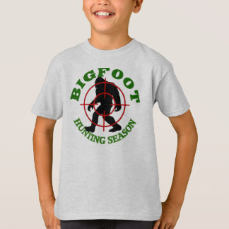 Bigfoot Hunting Season T-Shirt