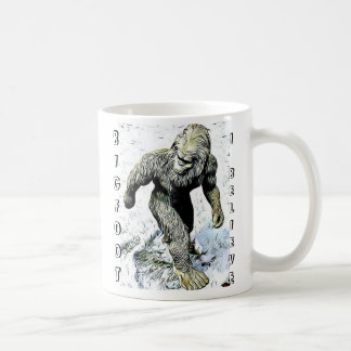 Bigfoot I Believe Coffee Mug