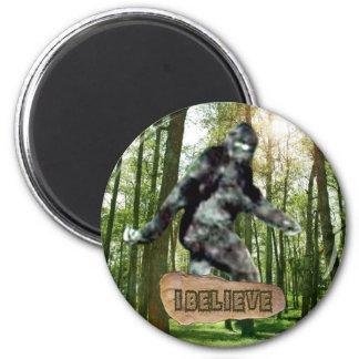 Bigfoot I Believe Magnet