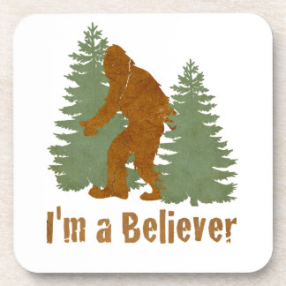 Bigfoot - I m a Believer Drink Coasters