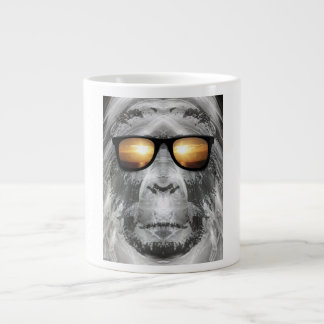 Bigfoot In Shades Large Coffee Mug