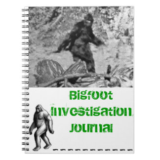 Bigfoot Investigation Journal Note Book