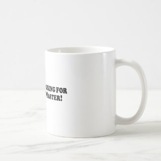 Bigfoot is Looking for a Good Zen Master - Basic Basic White Mug