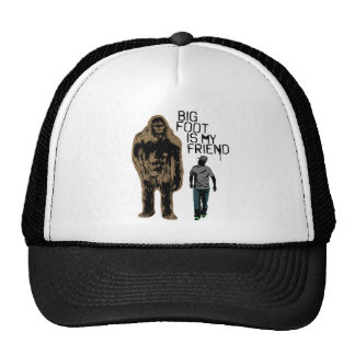 Bigfoot Is My Friend Cap