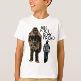Bigfoot Is My Friend T-Shirt