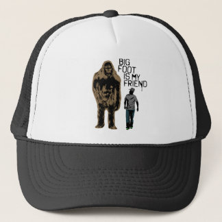 Bigfoot Is My Friend Trucker Hat