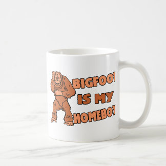 Bigfoot Is My Homeboy Coffee Mug