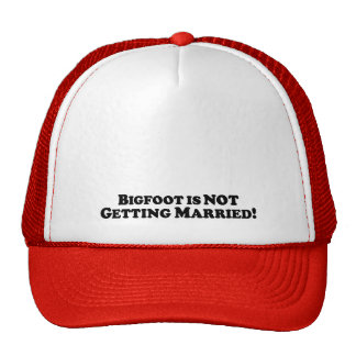 Bigfoot is NOT getting Married - Basic Hat