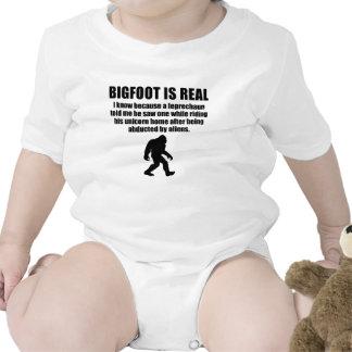 Bigfoot Is Real T Shirt