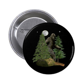 Bigfoot Items 6 Cm Round Badge