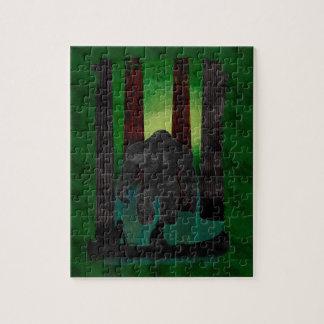 bigfoot jigsaw puzzle