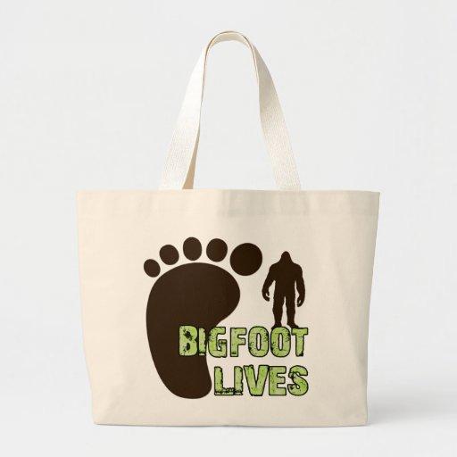 Bigfoot Lives Tote Bag