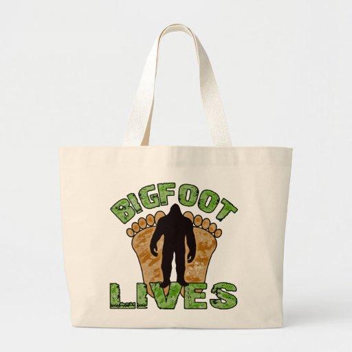Bigfoot Lives Tote Bags