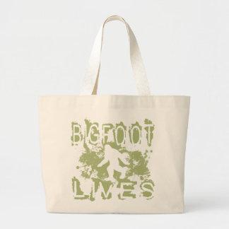 Bigfoot Lives Jumbo Tote Bag