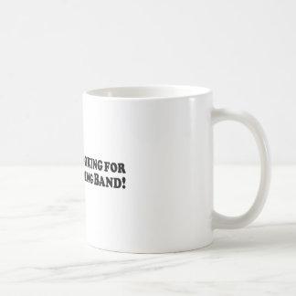 Bigfoot Looking for Good Wedding Band - Basic Basic White Mug