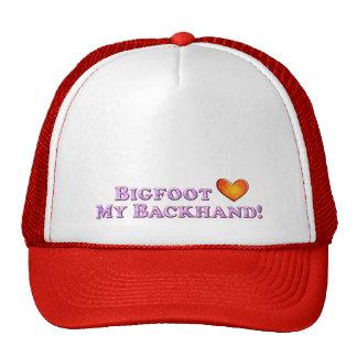 Bigfoot Loves My Backhand - Basic Mesh Hats