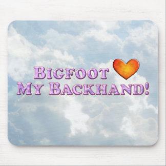 Bigfoot Loves My Backhand - Basic Mouse Pad
