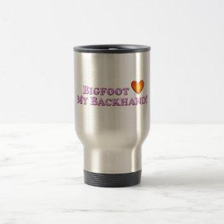 Bigfoot Loves My Backhand - Basic Coffee Mug