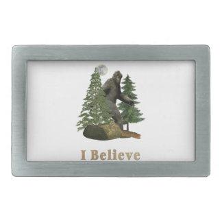 Bigfoot merchandise belt buckles