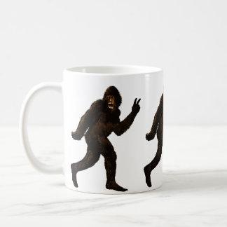Bigfoot Peace Coffee Mug