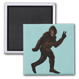 Bigfoot Peace Magnet